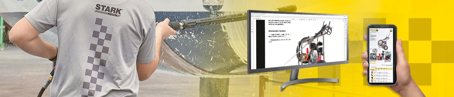 Descarga el catálogo de Stark by Ausavil es una marca perteneciente al Grupo Ausavil especializada en el diseño, fabricación y venta de equipos de limpieza y agua a presión de alta calidad.